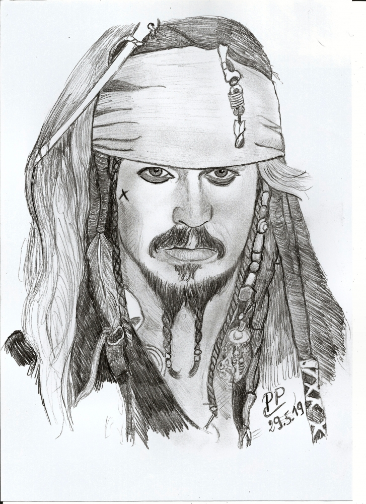 Johnny Depp by Patoux